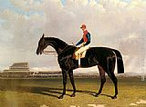 John Frederick Herring Snr - Lord Chesterfield's Industry with William Scott up at Epsom