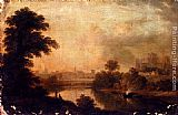 John Glover - A View Of Ripon Cathedral From Across The River Ure