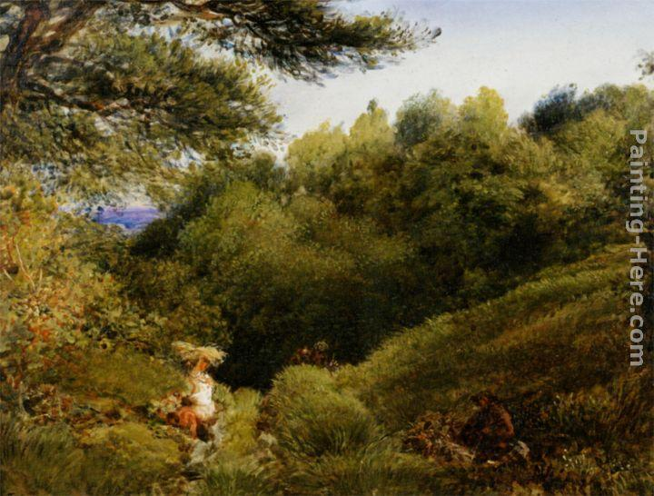 John Linnell A Surrey Glade