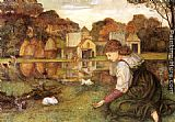 John Roddam Spencer Stanhope - The White Rabbit