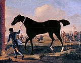 John Wootton - The Duke Of Rutland's Bonny Black Held By A Groom At Newmarket