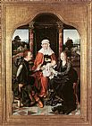 Joos van Cleve - St Anne with the Virgin and Child and St Joachim