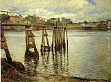 Joseph Rodefer de Camp - Jetty at Low Tide