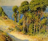 Famous Trees Paintings - Trees Along the Coast