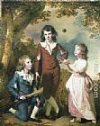 Joseph Wright of Derby - The Children of Hugh and Sarah Wood of Swanwick, Derbyshire