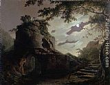 Joseph Wright of Derby - Virgil's Tomb