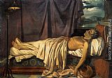 Joseph-Denis Odevaere - Lord Byron on his Death-bed