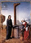 Juan De Flandes - Christ and the Woman of Samaria