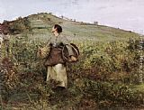 Jules Bastien-Lepage - At Harvest Time