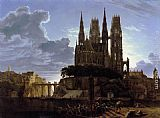 Karl Friedrich Schinkel - Medieval Town by Water