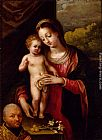 Lavinia Fontana - The Madonna And Child With A Donor