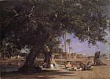 Leon Belly - View of Shubra
