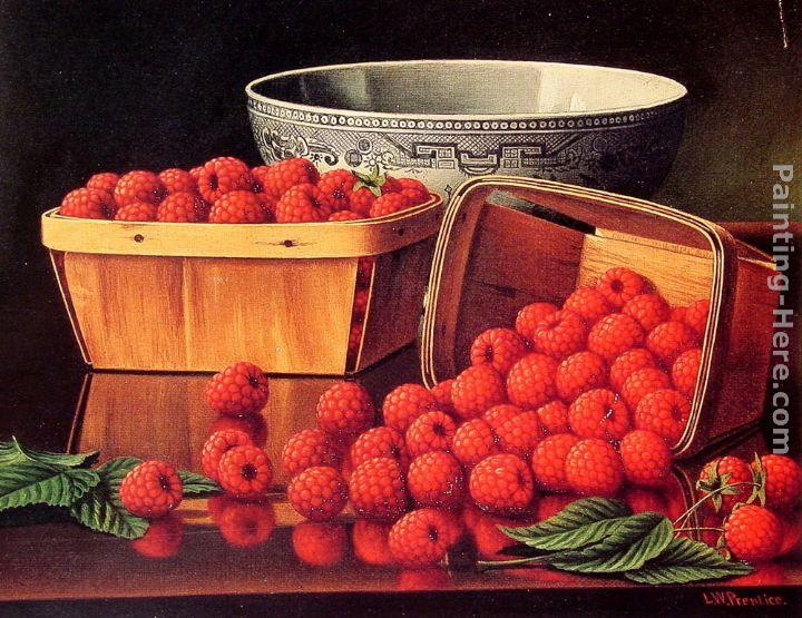 Levi Wells Prentice Baskets of Raspberries