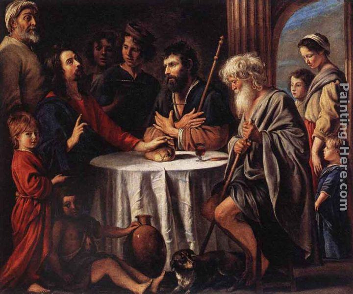 Louis Le Nain The Supper at Emmaus