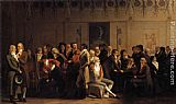 Louis-Leopold Boilly - Meeting of Artists in Isabey's Studio