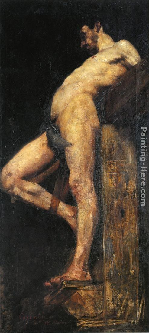 Lovis Corinth Crucified Thief