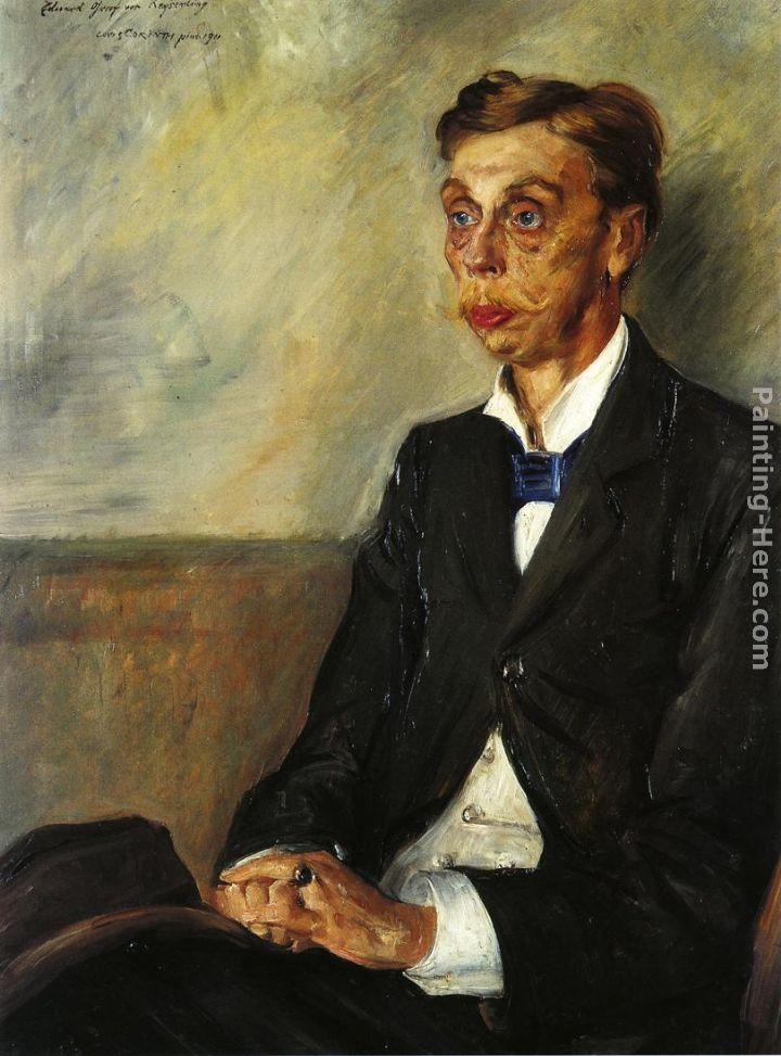 Lovis Corinth Portrait of Eduard, Count Keyserling