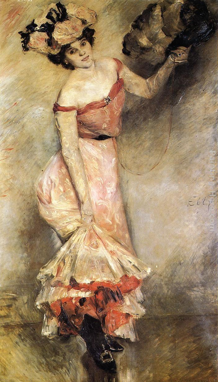 Lovis Corinth Portrait of Elly