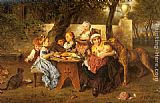 Ludwig Knaus - The Birthday Party