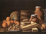 Luis Melendez - Still-Life with Oranges and Walnuts