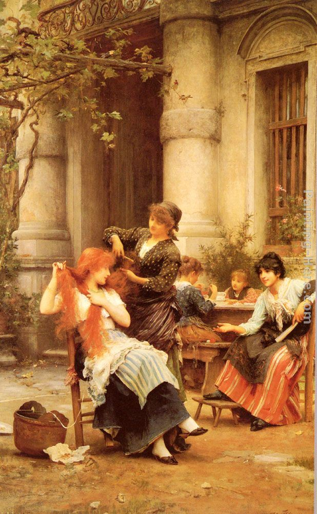 Luke Fildes Alfresco