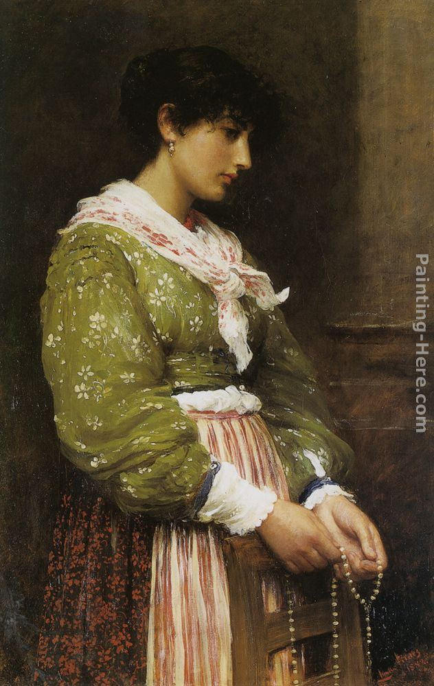 Luke Fildes Devotion