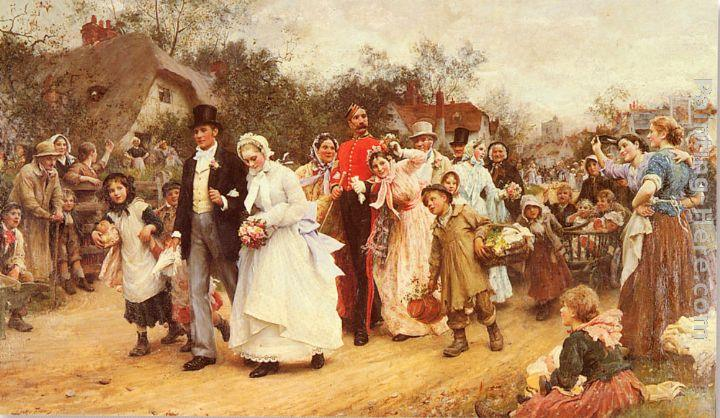 Luke Fildes The Wedding