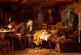Luke Fildes The Doctor painting