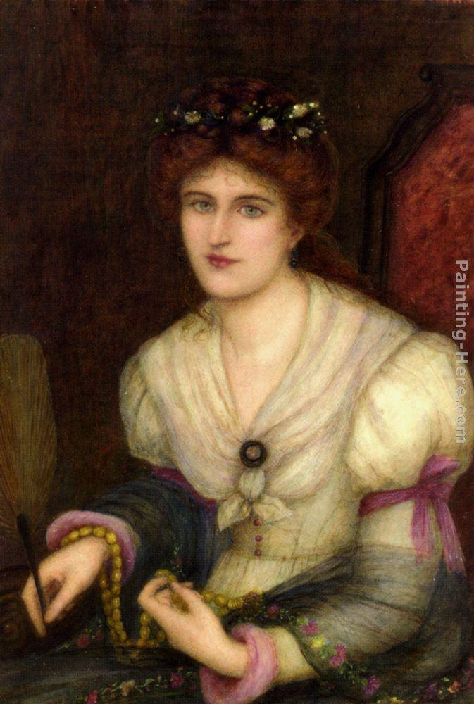 Maria Spartali Stillman Self-Portrait