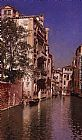 Famous Canal Paintings - Canal San Giovane