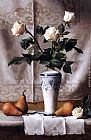 Maureen Hyde - Bacio d'Inverno (Still Life with White Roses)
