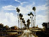 Meindert Hobbema - The Road To Middelharnis
