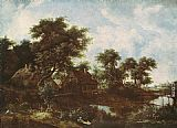 Meindert Hobbema - The Watermill