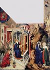 Melchior Broederlam - The Annunciation and the Visitation