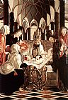 Altarpiece Canvas Paintings - St Wolfgang Altarpiece Circumcision