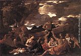 Nicolas Poussin - Bacchanal the Andrians