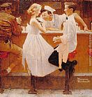 Norman Rockwell After the Prom painting
