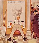 Norman Rockwell Canvas Paintings - Before and After