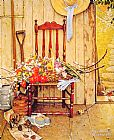 Norman Rockwell Famous Paintings - Spring Flowers