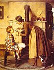 Norman Rockwell Spring Tonic painting