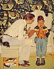 Norman Rockwell Famous Paintings - The Facts of Life