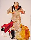 Norman Rockwell Famous Paintings - The Puppeteer