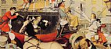 Norman Rockwell Famous Paintings - Winchester Stagecoach