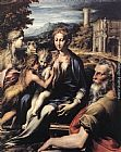 Parmigianino - Madonna and Child with Saints