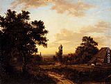 Patrick Nasmyth - A View Of Addington, Surrey, With The Shirley Mills Beyond