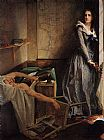 Paul Jacques Aime Baudry Charlotte Corday painting