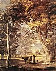 Paul Sandby - Cow-Girl in the Windsor Great Park