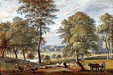 Paul Sandby - Foresters In Windsor Great Park