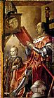 Famous Son Paintings - Federico Da Montefeltro With His Son Guidobaldo