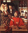 Petrus Christus - St Eligius in His Workshop
